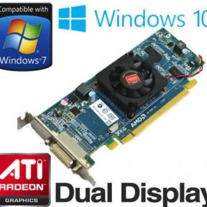 AMD Radeon HD 6350 512MB PCI-E DMS-59 Dual Display Low Profile Graphics Card