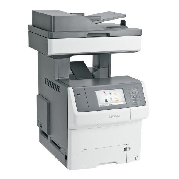 LEXMARK X748DE MULTIFUNZIONE FULL OPTIONAL COLORI