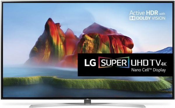 "LG 86SJ957V 86"" 4K Ultra HD Smart TV Wi-Fi Nero, Argento LED TV"