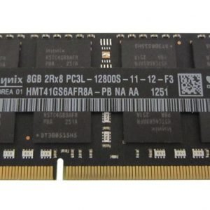 Hynix 8GB PC3-12800 DDR3-1600MHz non-ECC Unbuffered CL11 204-Pin SoDimm 1.35V