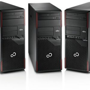 FUJITSU Esprimo p910 e90+ Tower PC i5-3570 CPU 16gb di RAM 128gb SSD 500gb HDD